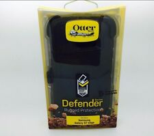 OtterBox Defender Series S7 Edge Case & Holster for Galaxy - Black