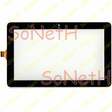 Touch screen Trekstor Surftab Xintron 10.1 ST10408-9 3G Vetro Digitizer Nero