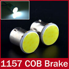 COB Chip LED Turn Indicator Bulbs For All Bikes / Cars - 1 Pair Cool White