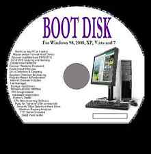 BOOT DISK FOR PC REPAIR, RESCUE, FIX & WINDOWS RECOVERY ANTIVIRUS REGISTRY XP 7