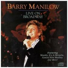 BARRY MANILOW - Live on Broadway CD