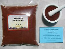 NEW MEXICO *MEDIUM* RED CHILE POWDER   2 Pounds   Fresh   *Free Shipping for USA