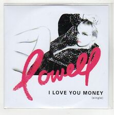 (GE758) Lowell, I Love You Money - 2014 DJ CD