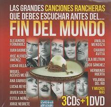CD - Las Canciones Rancheras NEW Fin Del Mundo 3 CD's & 1 DVD FAST SHIPPING !