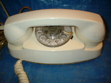 Western Electric Bell System 702B Rotary Dial Princess Telephone 1970s White