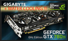 NVIDIA GTX 780ti Gigahertz /OC WATER COOLED HYBRID Graphics Card GPU faster 980!