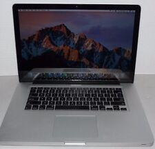 """Apple MacBook Pro 15"""" A1286 (Mid-2012) Core i7 4GB 2.3GHz 500 GB HD 10.12 OSX"""