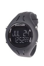 NEW Swimovate PoolMate 2 BLACK Swimming Computer Lap Counter Watch Pool Mate