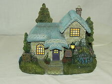 Hawthorne Village Heathers Pastry Shop Lighted Thomas Kinkade Seaside Village