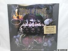 CRADLE OF FILTH Godspeed On Devil's Thunder 2-LP+Mp3 SEALED Goth Metal BLACK