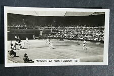 Fred Perry  Wimbledon Men's Doubles   Original 1930's Action Photo Card # VGC