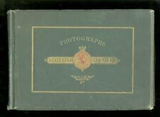 c1890 Photographs Scottish Scenery, GW Wilson, 12 Albumen Prints, Edinburgh