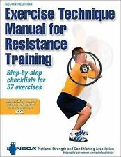 Exercise Technique Manual for Resistance Training by National Strength &...