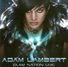 Adam Lambert Glam Nation Live CD  & DVD