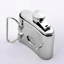 Buckle with small Hip flask, Stainless steel, Belt Buckle