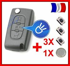 shell RKS remote key CITROEN C4 Picasso Button Headlight CE0536 +Switches