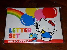 VINTAGE 1976-1984 SANRIO HELLO KITTY RAINBOW BALLOONS LETTER SET UNUSED