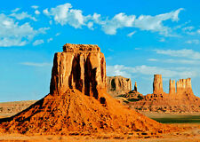 3D Lenticular Postcard - Monument Valley, Utah - Greeting Card