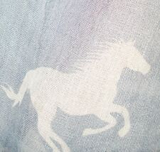 Horse Print Scarf (Soft and Long)