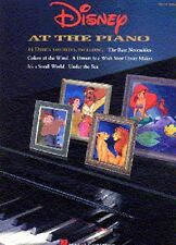 Disney At The Piano Learn to Play EASY Beginner Childrens Pop Music Book SONGS
