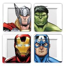 Marvel Comics - Avengers Mélamine Ensemble De Plat - Neuf & Officiel Limitée