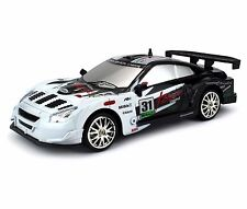 1:24 Nissan Skyline GT-R RC Car Drift Racing King 4WD Remote Control Black New