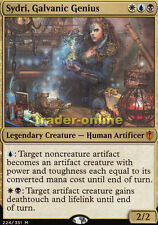 Sydri, Galvanic Genius (Sydri, Elektrisierendes Genie) Commander 2016 Magic