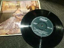 """Rogers and Hammerstein the King and I 7"""" vinyl single"""