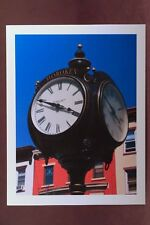 Photograph Note Cards,  Blank Cards,  Any  Occasion, Homemade, Hoboken Clock