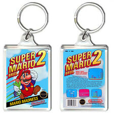 SUPER MARIO BROS 2 NES KEYRING LLAVERO