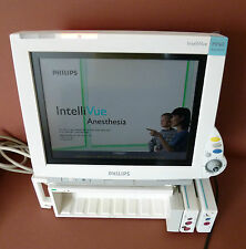 Philips Intellivue MP60 Patient Monitor Anesthesia ECG,SpO2,Temp,NBP Module rack