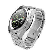 Sport Wrist Bracelet Smart Bluetooth Watch G6 Phone for Android iOS Steel Silver