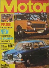 Motor magazine 25/3/1972 featuring Avenger Tiger, BMW, Volvo road test, Piper