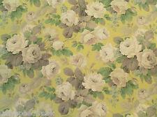 Sanderson Curtain Fabric CHELSEA 0.5m Linden/Silver Vintage Floral Design 50cm