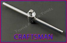 "CRAFTSMAN HAND TOOLS 1/4"" dr 4-1/2"" socket wrench Slide Bar T-Handle"