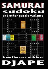 Samurai Sudoku and Other Puzzle Variants : From Florence with Love by Dj Ape...