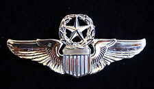 US AIR FORCE COMMAND PILOT BADGE WING PIN UP US AUTHENTIC ARMY AIR CORPS GIFT