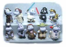 KINDER SURPRISE HAPPY HIPPOS STAR WARS SET 10 HIPPOS DRESSED AS SW CHARACTERS!