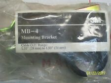 """3M MB-4 Mounting Bracket Cable O.D. Range: 1.10"""" (28mm) to 1.50"""" (38mm)"""