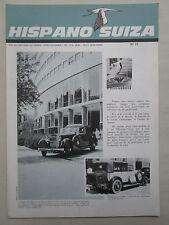 REVUE HISPANO-SUIZA 1966 N°21 THM TURBINE ROUMANIE COMMANDE NUMERIQUE VITESSE
