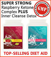 FINN&BRIT SUPER STRONG Rasberry Ketone Keytone + Colon Cleanse Detox DIET