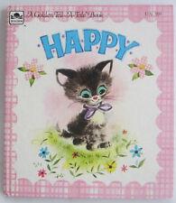 Tell a Tale Book HAPPY Norma Dan Garris NEW Old Stock Vintage Cat Kitten Secret