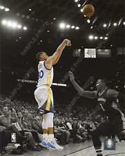 Stephen Curry 2015-16 Golden State Warriors Spotlight Action 8x10 Photo Beauty!