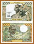 West African States, Senegal, 1000 Francs Nd (1980), P-703Ko, UNC