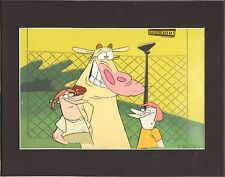 COW and CHICKEN original production cell Cartoon Network COA seal