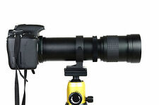420-800mm Telephoto Lens for Nikon D3200 D5200 D7000 D90 D800 D600 SLR Camera