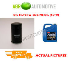 PETROL OIL FILTER + 0W40 ENGINE OIL FOR NISSAN SUNNY 2.0 143 BHP 1990-94