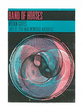 Band of Horses Limited Edition Silkscreen Concert Poster - Music Serigraph Print