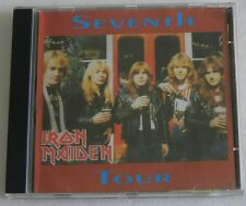 IRON MAIDEN SEVENTH TOUR CD MADE IN BRAZIL LIVE TAMPA USA '88 KILLERS PIECE