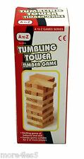 Tumbling Tower Jenga game of balance & skill